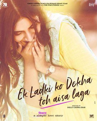 ek-ladki-ko-dekha poster