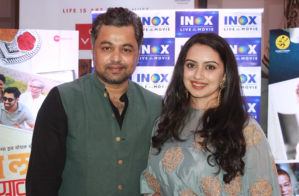 Shruti Marathe and Subodh Bhave